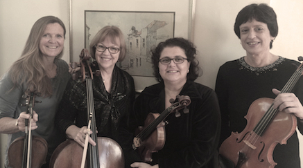 Palm Strings string quartet, Cape Town, South Africa