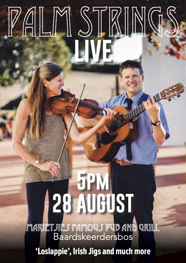 Palm Strings at Marietjie's on 28 August 2021